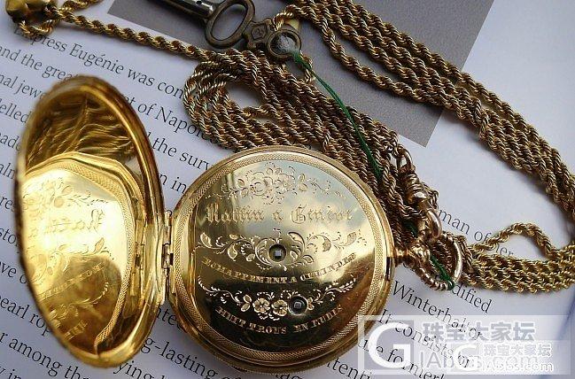 金表-金色的金_古董钟表