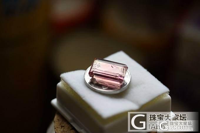 7.15克拉粉色碧玺玻璃体~附视频_刻面宝石碧玺