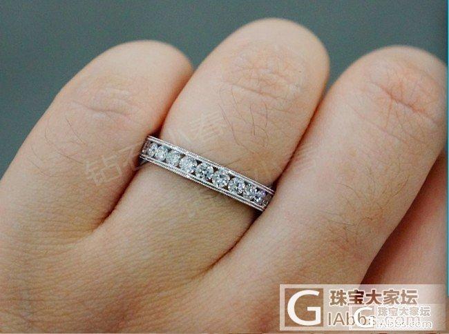 新款钻石排钻,可做对戒!款式(四)_钻石小春