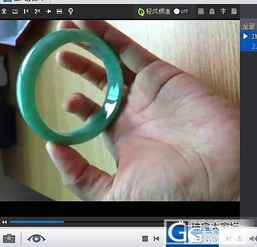 【 新 货 】:1条高冰绿水起光飘花厚实镯、1条大圈甜果绿正镯!_翡翠