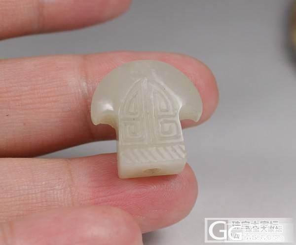 750元 原籽 350元博古纹斧形勒..._传统玉石