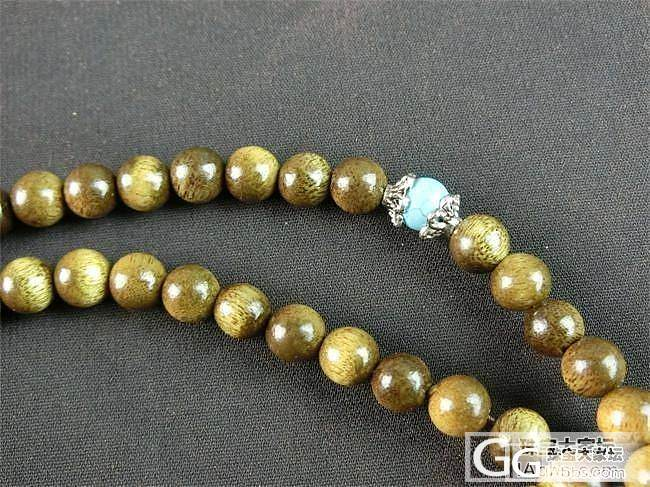 印度小叶紫檀同料顺纹 星月菩提子 黄..._珠宝