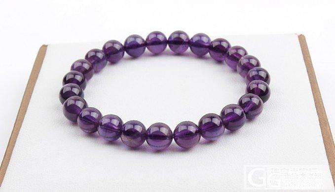 想求紫水晶手链_宝石
