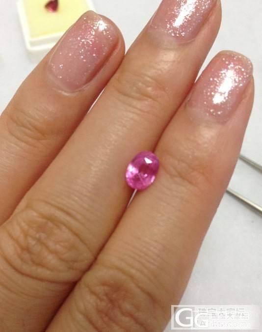 我这一把一把的裸石啊,没个贵的,镶嵌..._尖晶石刻面宝石