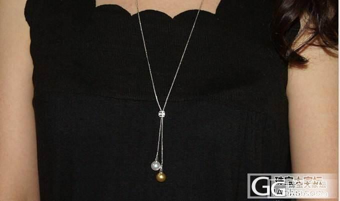 美克拉 绝代双娇 超美珍珠毛衣套链出..._有机宝石