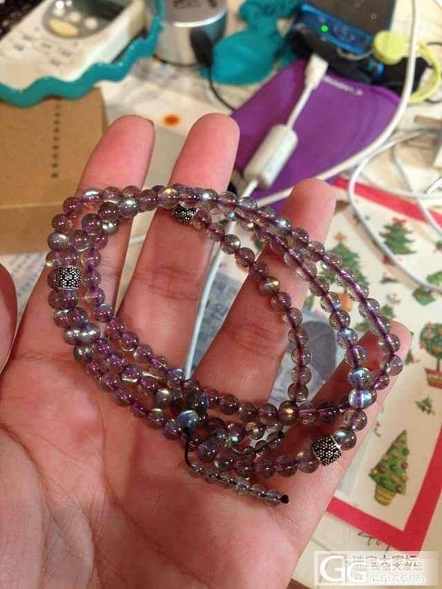 海蓝宝、马粉、红纹、紫牙乌、彩月塔链..._宝石