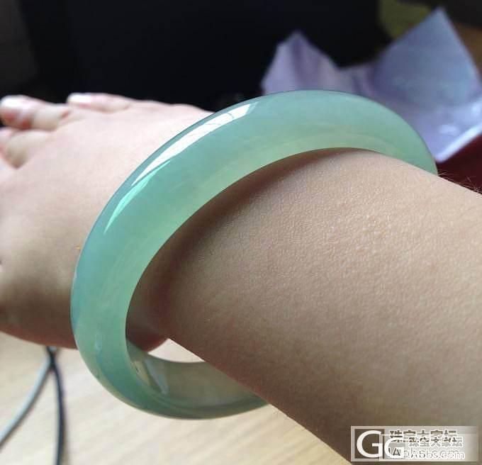 【老龙王】一手冰冰凉凉、淡紫淡果绿冰..._翡翠