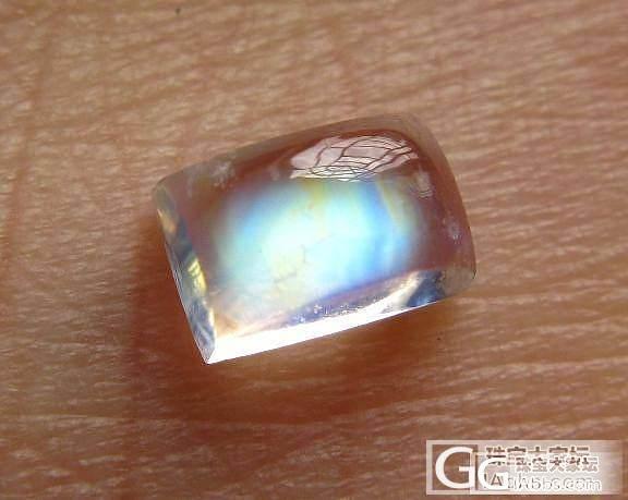 【舞玥小筑】蓝月光石塔链、彩虹月光石..._宝石