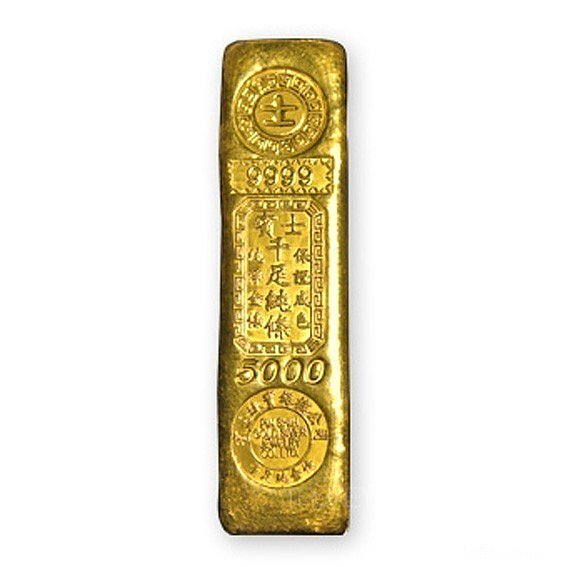 美轮美奂的各种金条——投资型_金银锭金