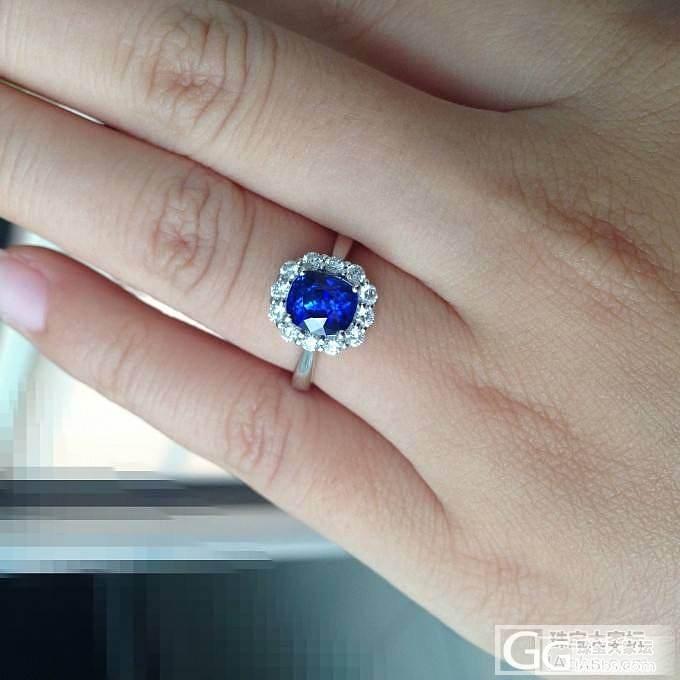 新入斯里兰卡 有烧 蓝宝。皇家蓝。终..._蓝宝石琳琅满目刻面宝石