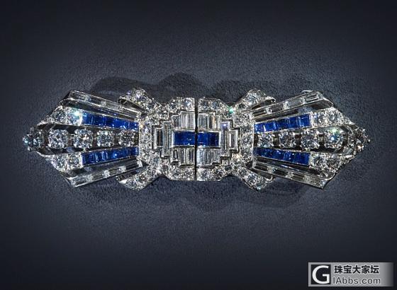 蒂芙尼古董珍藏钻石珠宝回顾展